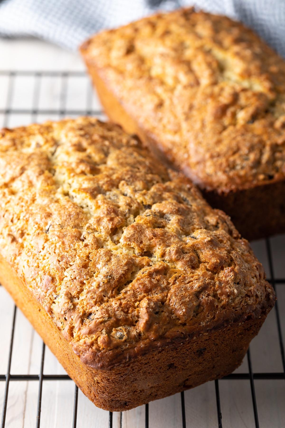Easy Irish Soda Bread Recipe #ASpicyPerspective #march #saintpatricksday #stpatricksday #stpaddysday #bread #raisins #irish