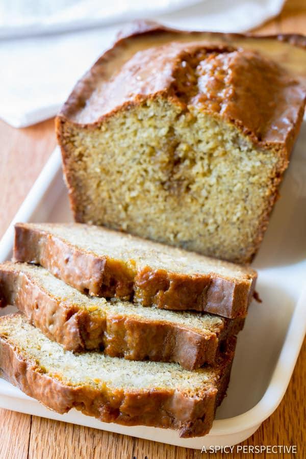 The Best Kahlua Banana Bread | ASpicyPerspective.com