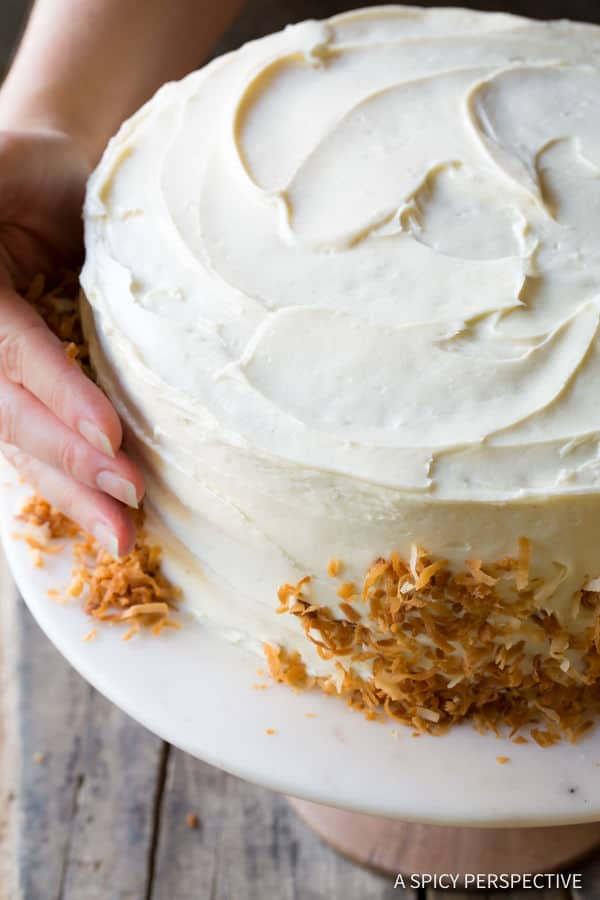 How to Make The Best Carrot Cake Recipe (Easy to Make!) | ASpicyPerspective.com