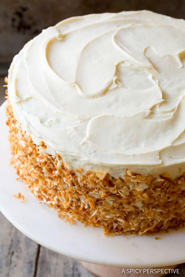 So Moist! The Best Carrot Cake Recipe (Easy to Make!) | ASpicyPerspective.com