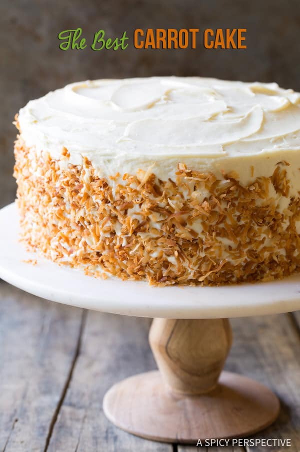 The Best Carrot Cake Recipe A Spicy Perspective