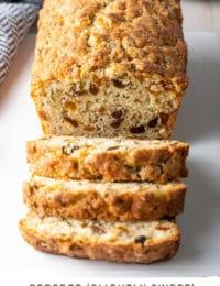 Sweet Irish Soda Bread #ASpicyPerspective #march #saintpatricksday #stpatricksday #stpaddysday #bread #raisins #irish