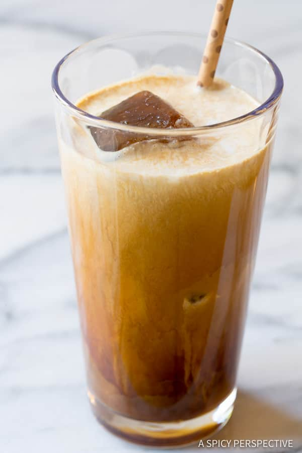 Love! Ultimate Iced Coffee - Tips for making the BEST iced coffee! | ASpicyPerspective.com