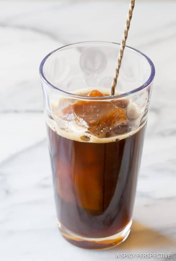 Best Iced Coffee Tips| ASpicyPerspective.com