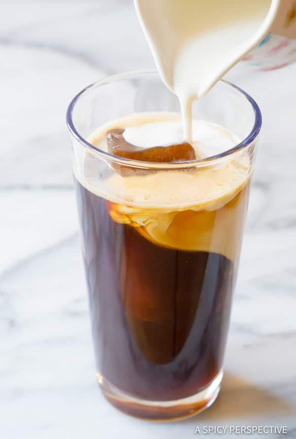How To: Ultimate Iced Coffee Tips| ASpicyPerspective.com