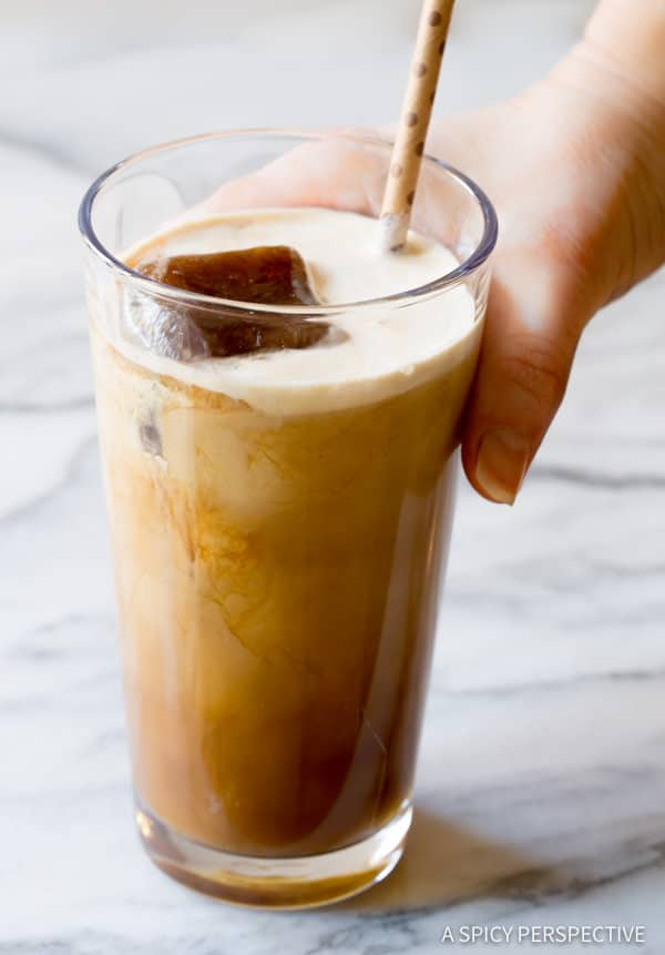 Ultimate Iced Coffee Recipe - Tips for making the BEST iced coffee! | ASpicyPerspective.com