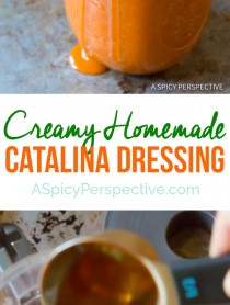 Homemade Catalina Dressing | ASpicyPerspective.com