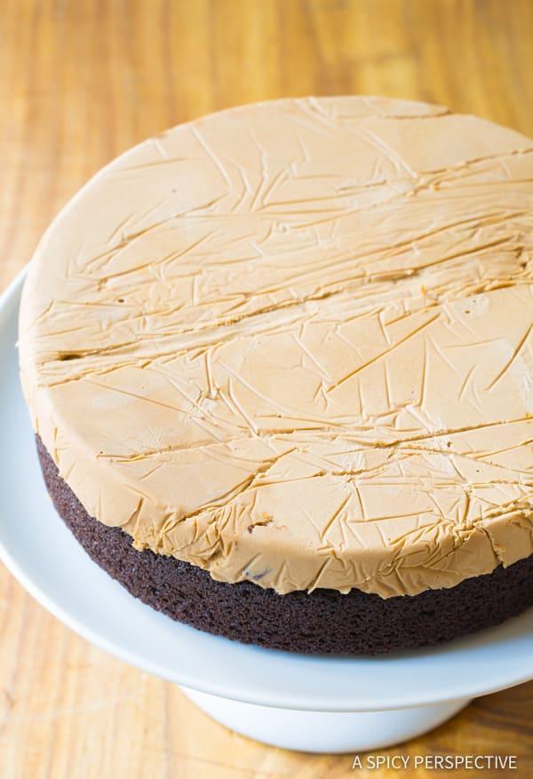 Chocolate Caramel Ice Cream Sandwich Cake A Spicy