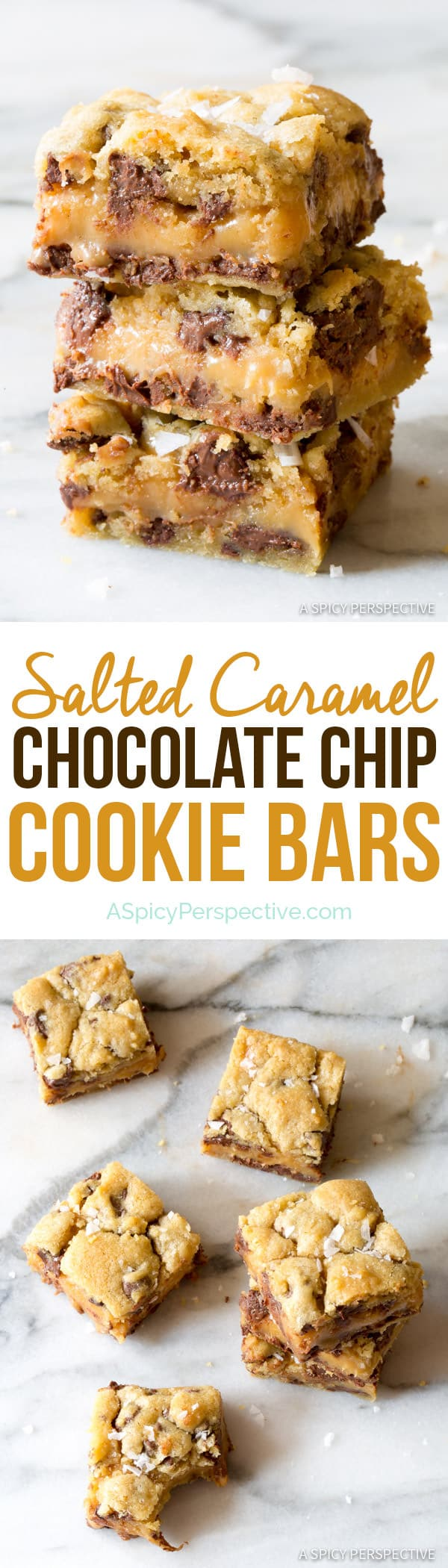 Salted Caramel Chocolate Chip Cookie Bars - Page 2 of 2 - A Spicy ...
