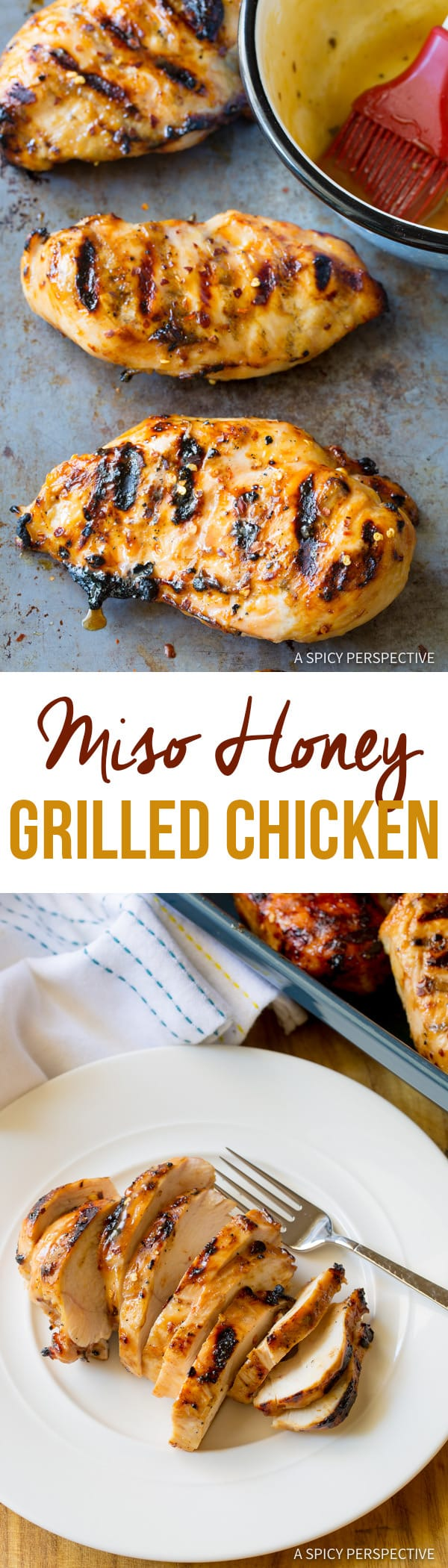 Miso Honey Chicken - A Spicy Perspective