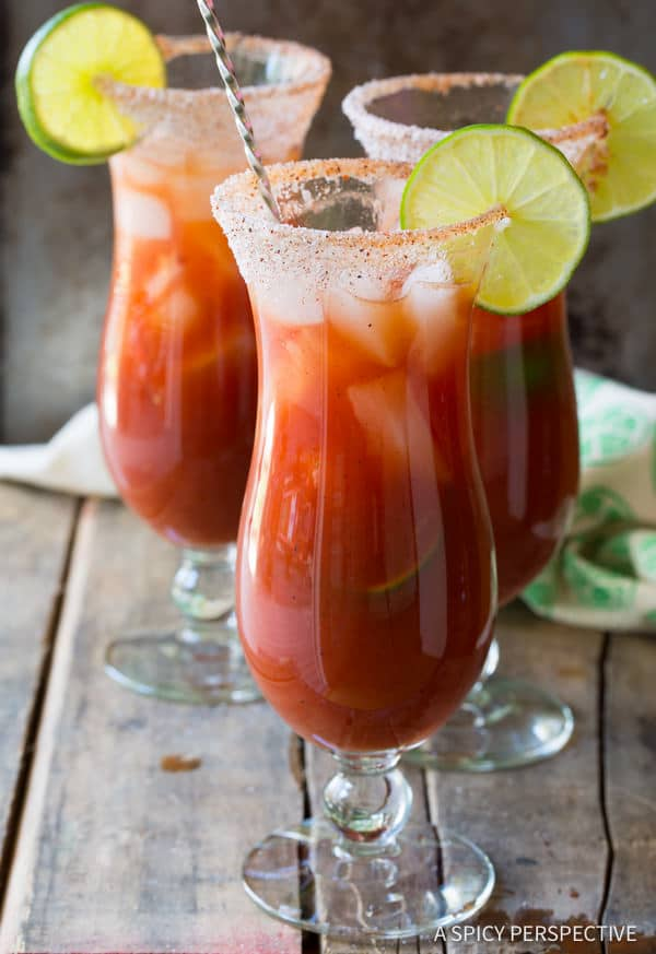 Zesty Michelada Recipe (Mexican Cocktail) | ASpicyPerspective.com