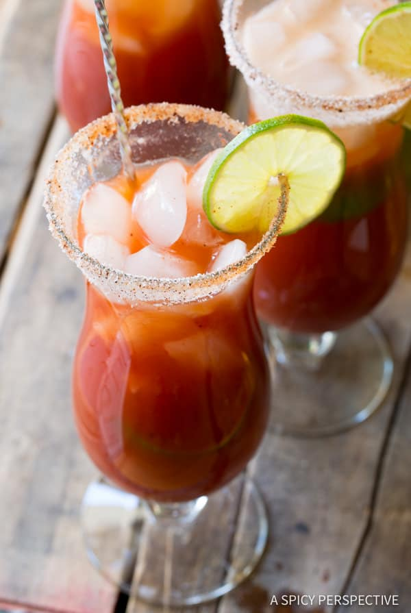 Spicy Michelada Recipe (Mexican Cocktail) | ASpicyPerspective.com