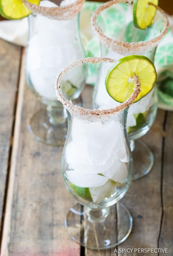 How to Make Spicy Michelada Recipe (Mexican Cocktail) | ASpicyPerspective.com