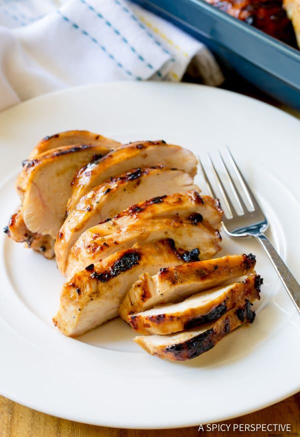 4-Ingredient Miso Honey Chicken Recipe | ASpicyPerspective.com