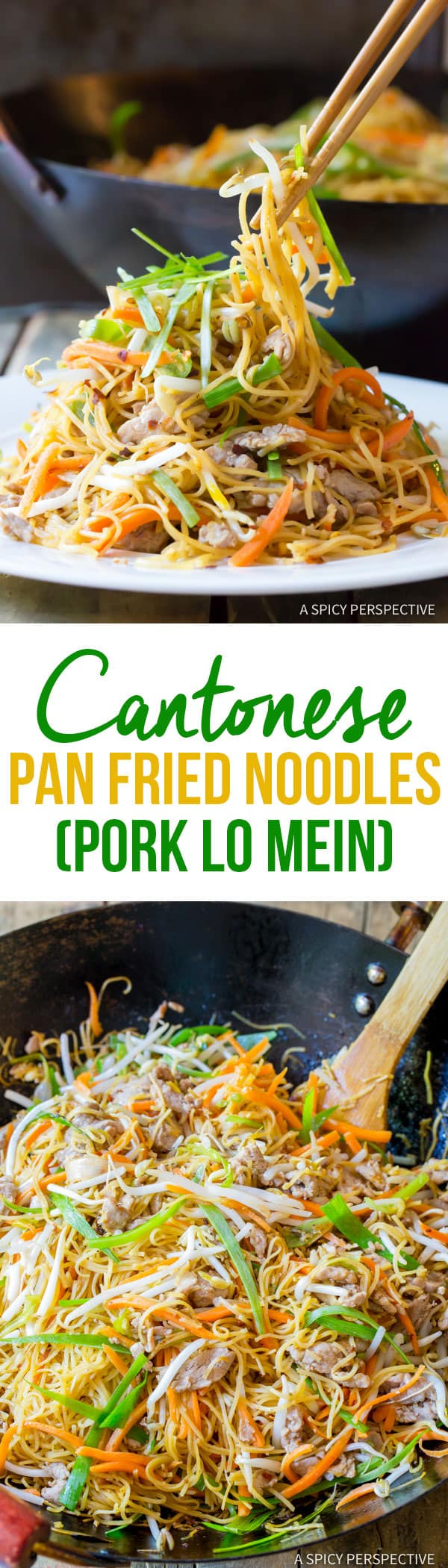 How about steaming Cantonese Pan Fried Noodles (Pork Lo Mein) for ...