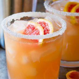 Pink Grapefruit Margarita Recipe | ASpicyPerspective.com