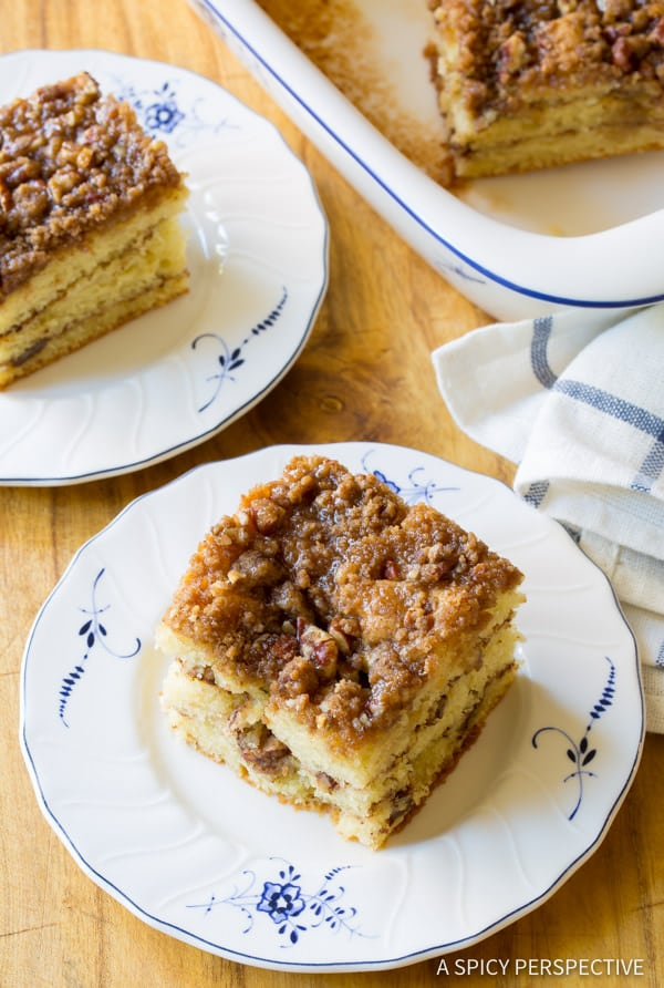 Decadent Kahlua Coffee Cake Recipe | ASpicyPerspective.com