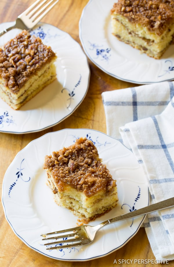 Heavenly Kahlua Coffee Cake Recipe | ASpicyPerspective.com