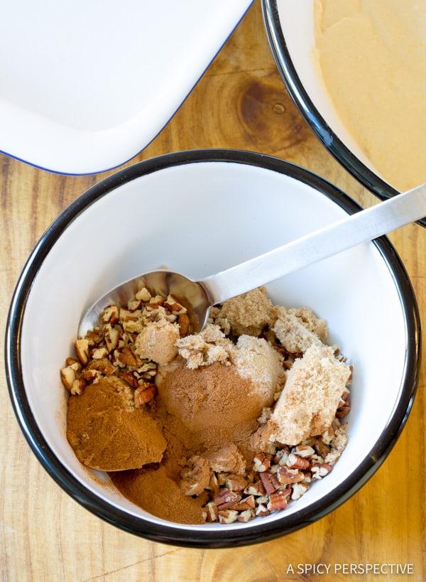 Making Kahlua Coffee Cake Recipe   ASpicyPerspective.com