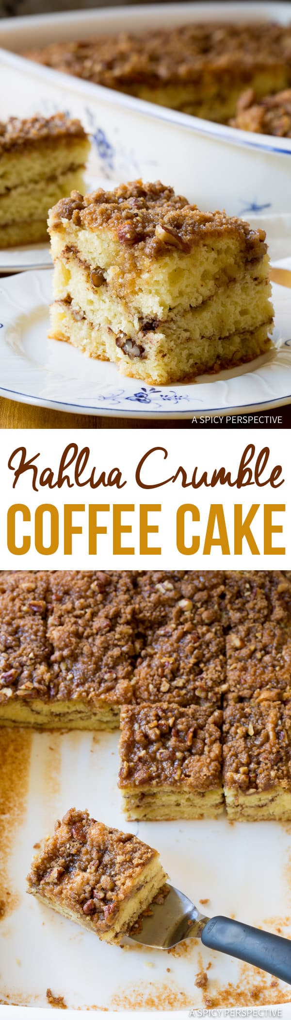 A Spicy Perspective Kahlua Coffee Cake - A Spicy Perspective