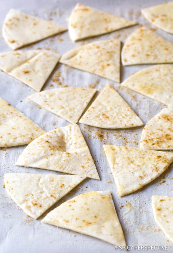 Making Mexican Breakfast Salad | ASpicyPerspective.com