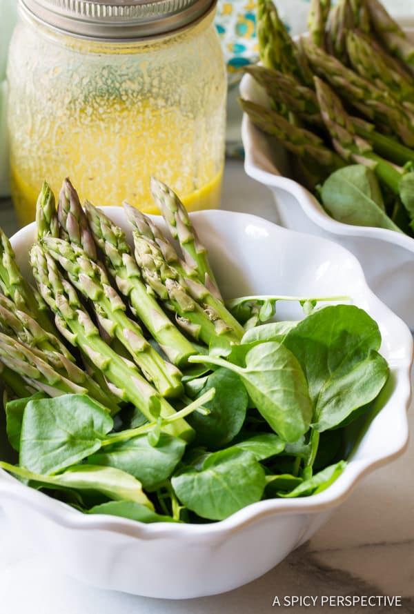 How to Make Roasted Salmon Detox Salad Recipe | ASpicyPerspective.com