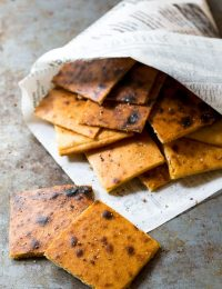 Fresh Socca Recipe (Farinata) Gluten Free Chickpea Flatbread | ASpicyPerspective.com