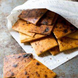 Fresh Socca Recipe (Farinata) Gluten Free Chickpea Flatbread | ASpicyPerspective.com