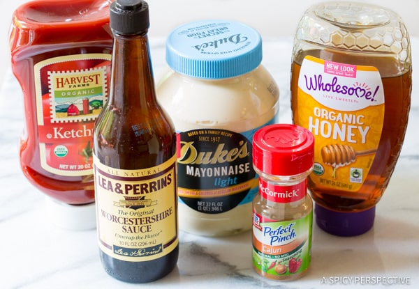 Making Easy Southern Comeback Sauce Recipe | ASpicyPerspective.com