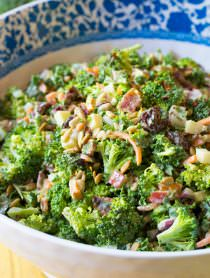 The Best Broccoli Salad Recipe | ASpicyPerspective.com