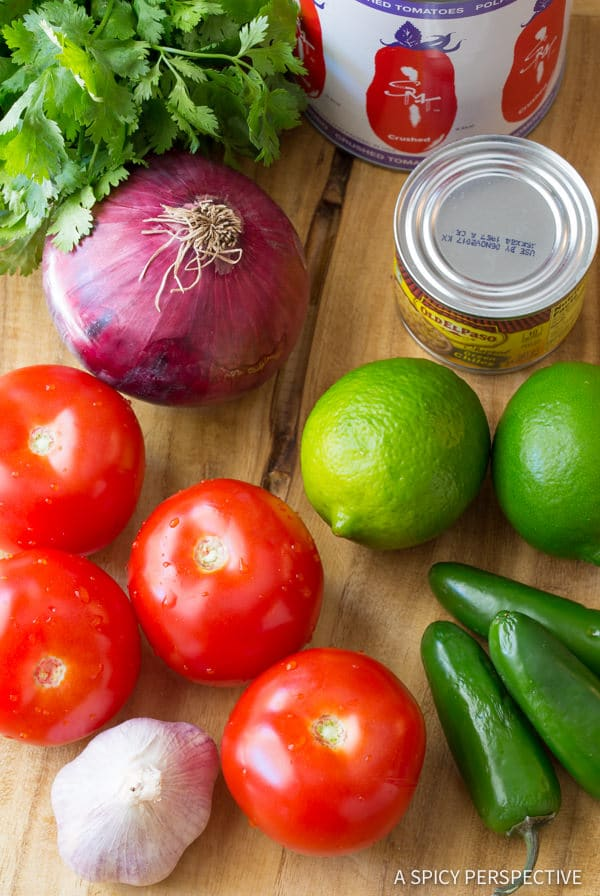 Making The Best Homemade Salsa Recipe (Quick, Healthy & Delicious!) | ASpicyPerspective.com