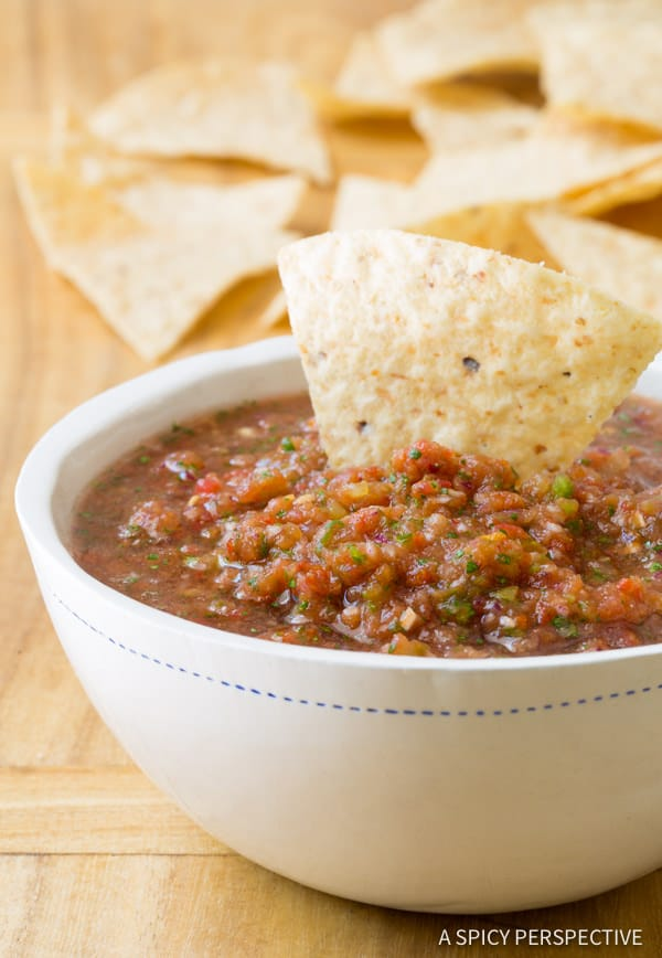 The best homemade salsa recipe a spicy perspective our take on the best homemade salsa recipe quick healthy delicious forumfinder Images