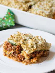 The Best Paleo Lasagna | ASpicyPerspective.com