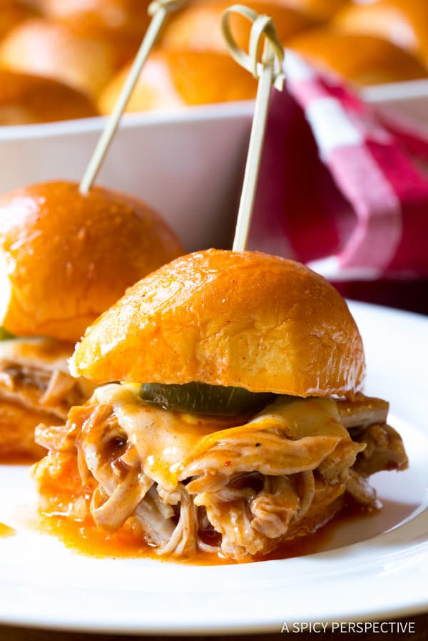 Heavenly Drowned Carnitas Party Sandwiches (Torta Ahogada) | ASpicyPerspective.com