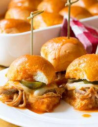 Drowned Carnitas Party Sandwiches (Torta Ahogada) | ASpicyPerspective.com