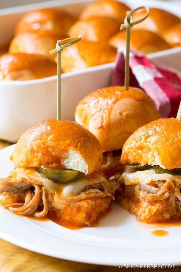 Drowned Carnitas Party Sandwiches (Torta Ahogada) | ASpicyPerspective.com