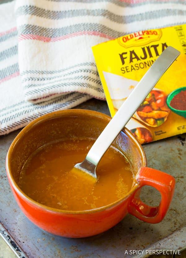 Grilled Fajita Vegetable Skewers w Fajita Butter | ASpicyPerspective.com