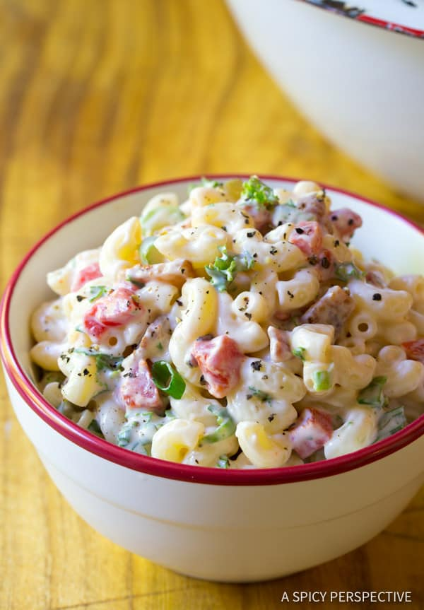 The Best Macaroni Salad A Spicy Perspective