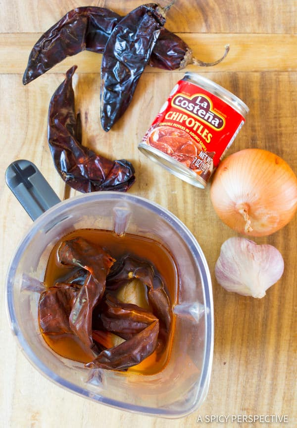 Making Slow Cooker Barbacoa Recipe | ASpicyPerspective.com
