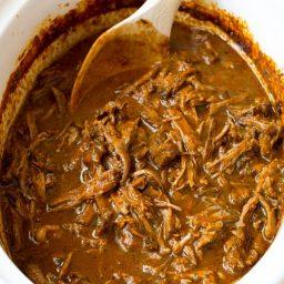 Slow Cooker Barbacoa Recipe | ASpicyPerspective.com