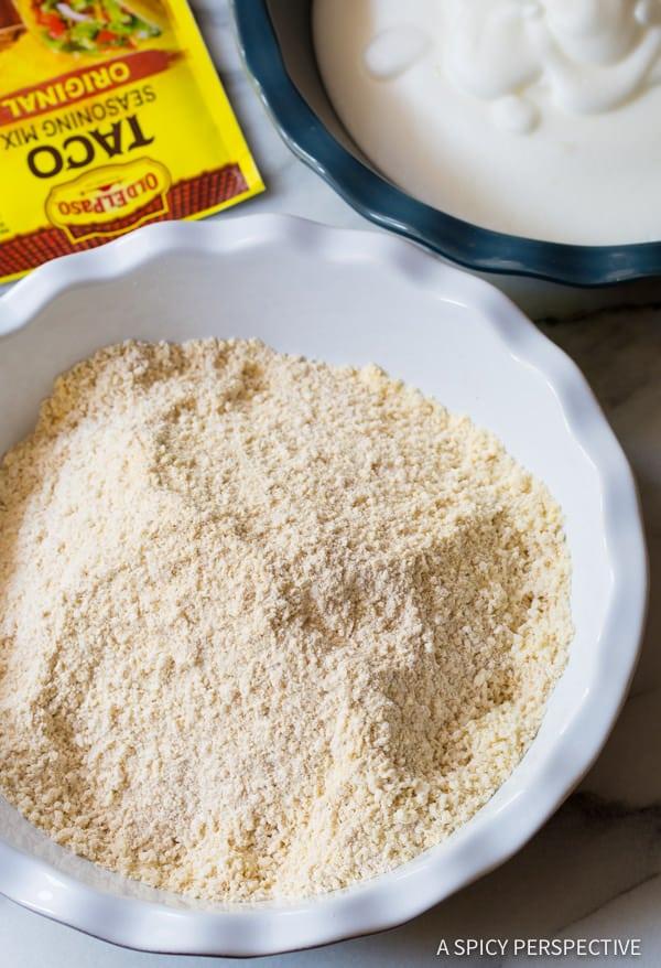 Make - Zesty Baked Onion Rings Recipe | ASpicyPerspective.com