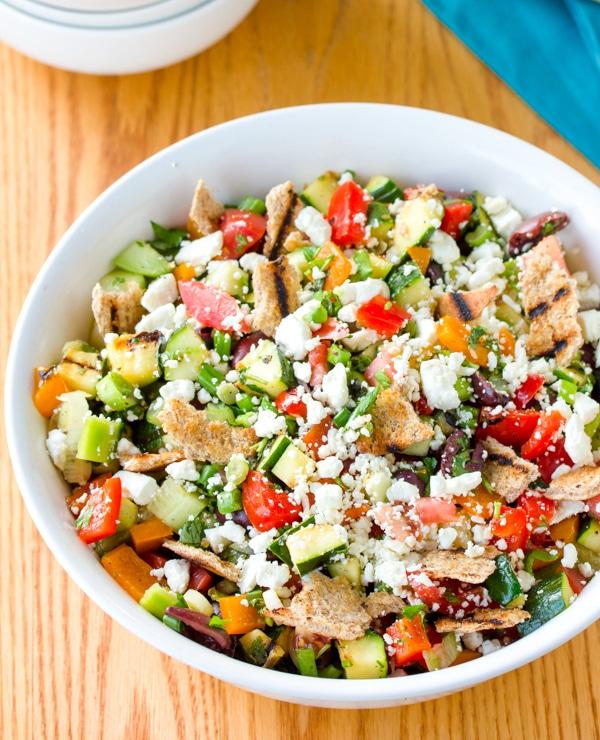 Grilled Fattoush Salad