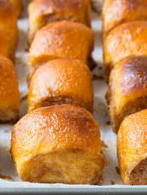 4-Ingredient Cinnamon Toast Buns | ASpicyPerspective.com