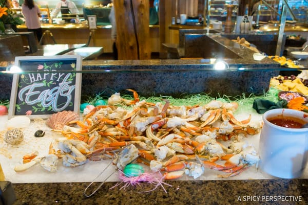 Deer Valley Ski Resort Seafood Buffet