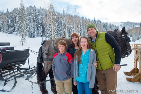Deer Valley Ski Resort Sleigh Ride