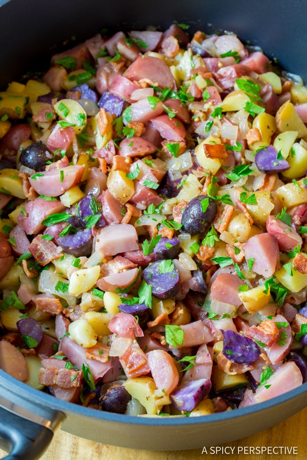 Perfect German Potato Salad Recipe | ASpicyPerspective.com