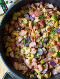 Warm German Potato Salad Recipe with Bacon | ASpicyPerspective.com
