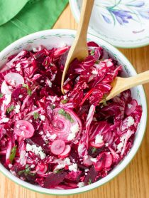 Roasted Beet and Radicchio Salad