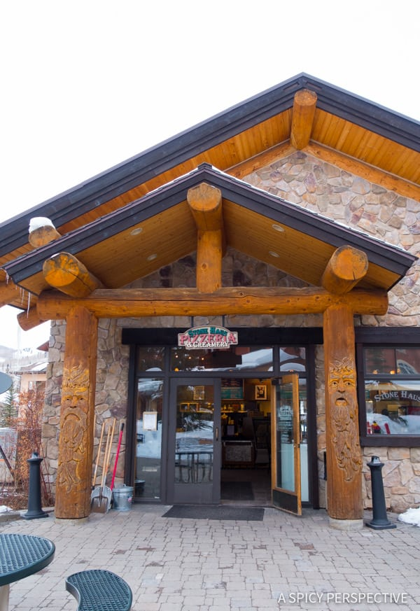 Solitude Mountain Resort Pizza