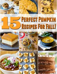 15 Perfect Pumpkin Recipes for Fall | ASpicyPerspective.com